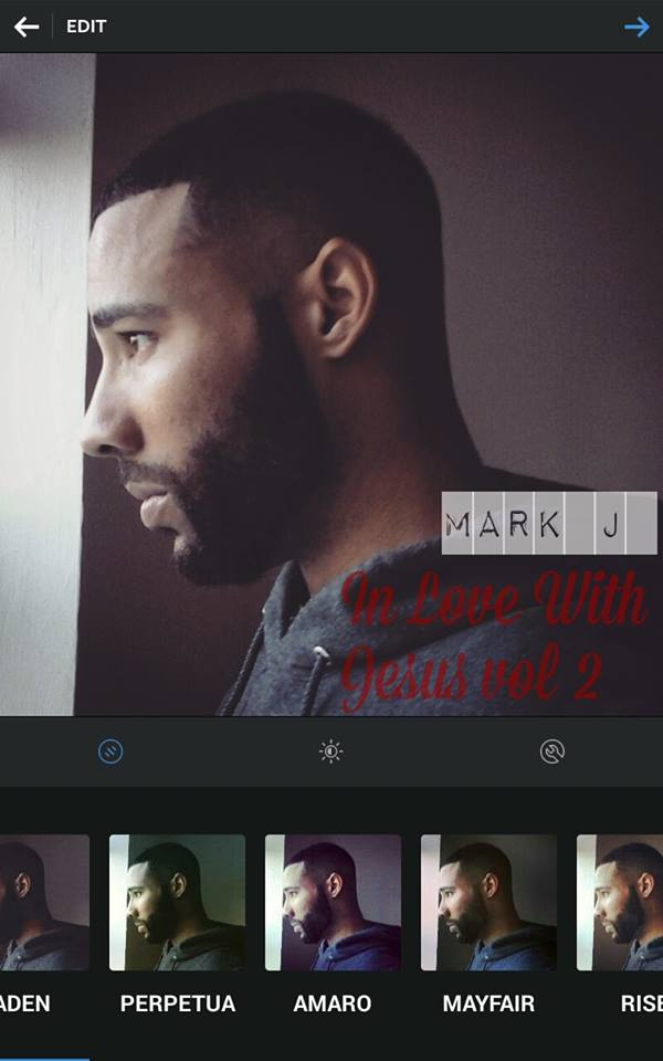 Mark J Releases 2 Tracks from his up coming Mixtape In Love With Jesus Vol.2
