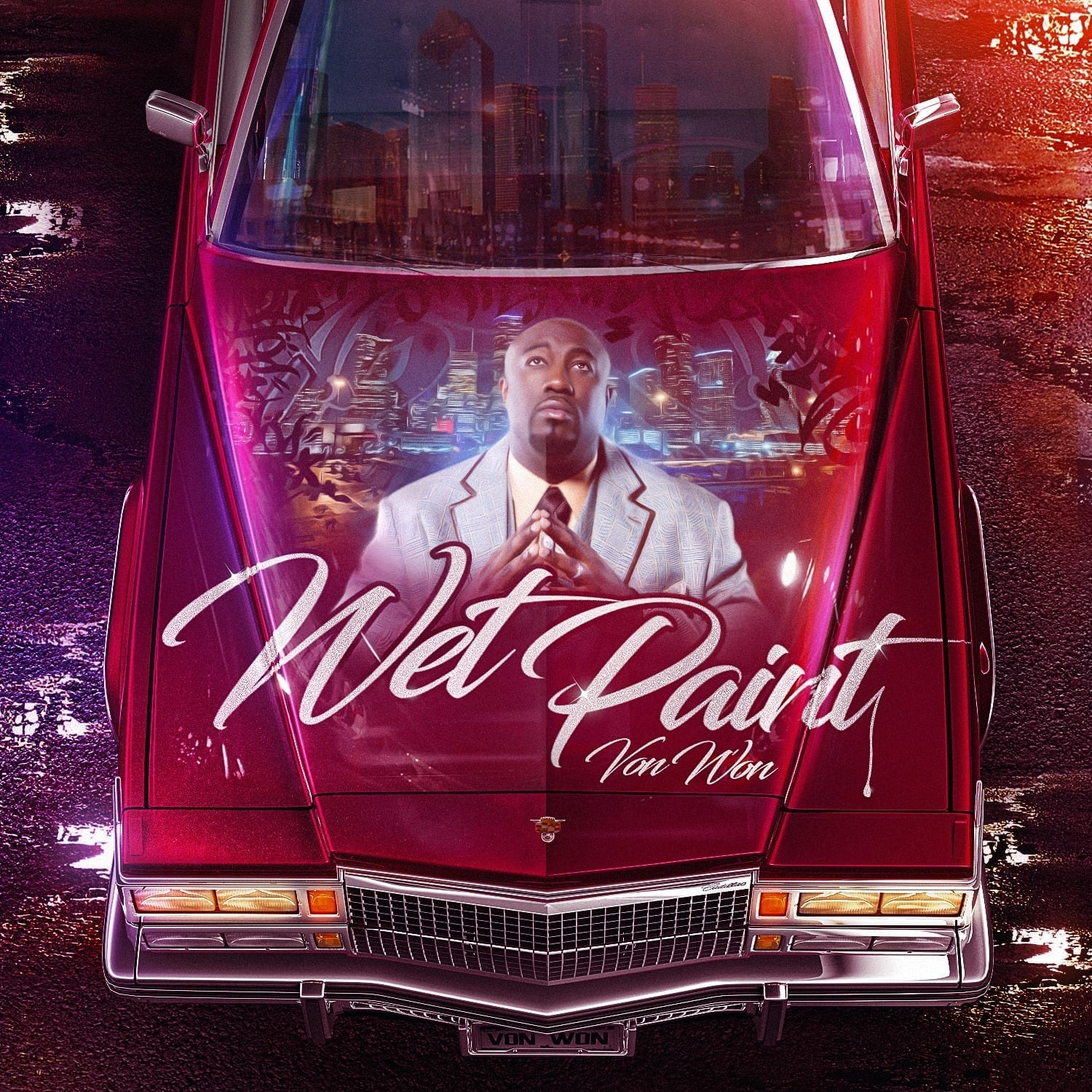 VON WON Drop's New Free Mixtape (WET PAINT) Vol.1