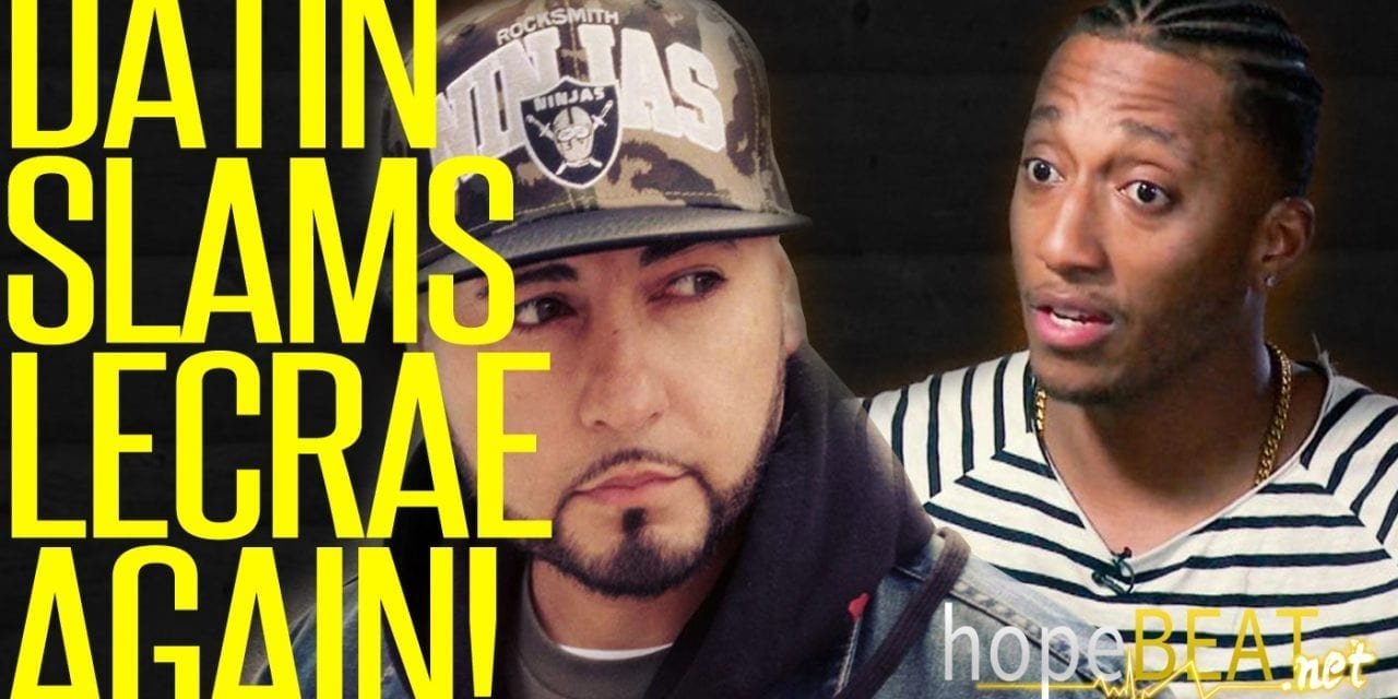 Datin Slams Lecrae Again For Dropping The CHH Label! (Video)