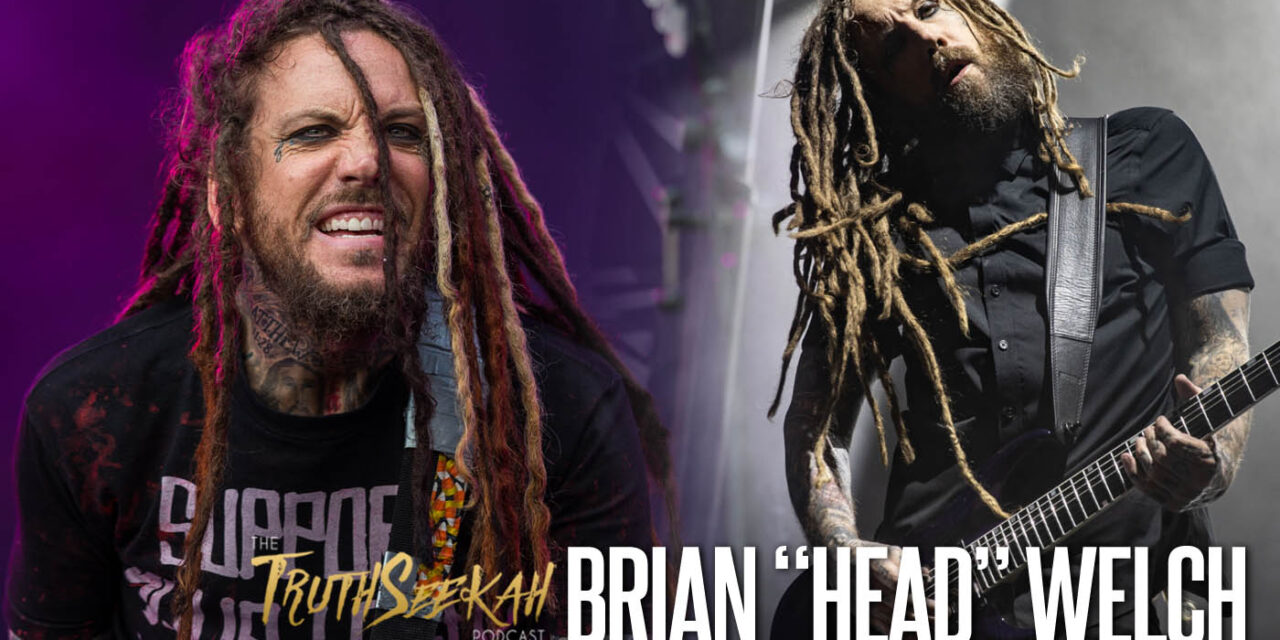 """Brian """"Head"""" Welch of KoRn 